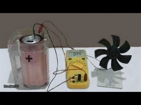 create your electricity by a battery using