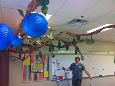 Ceiling Hangers For Classrooms by 62 Best Images About Classroom Tree Display Ideas On