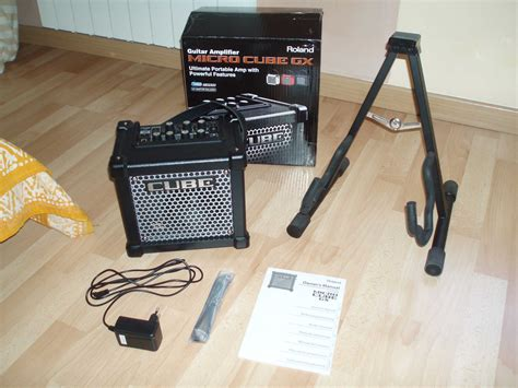 Roland Micro Cube Gx roland micro cube gx image 809835 audiofanzine