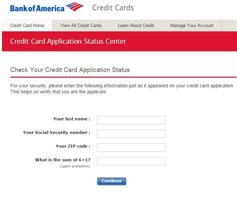 design application status bank of america business credit card reconsideration line
