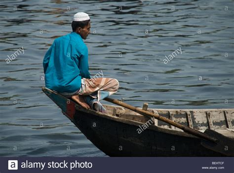 bow of his boat rural bangladesh stock photos rural bangladesh stock