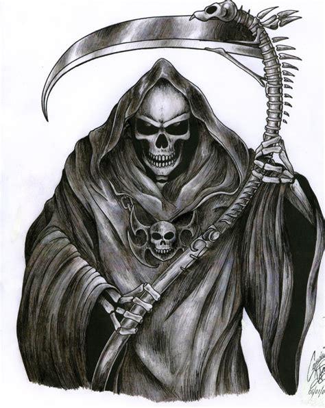 small grim reaper tattoos grim reaper images designs