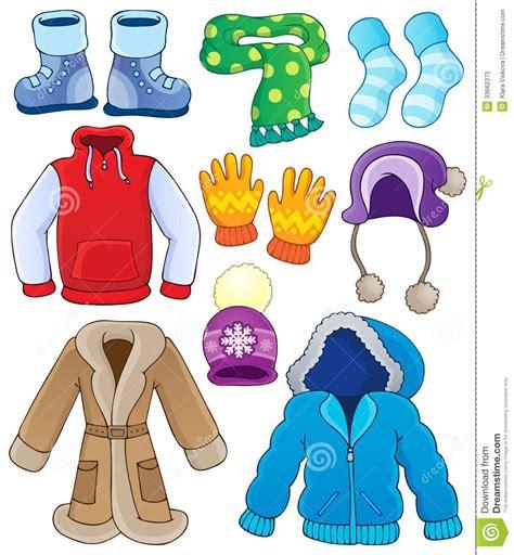 Winter clothes clipart images clipartfest