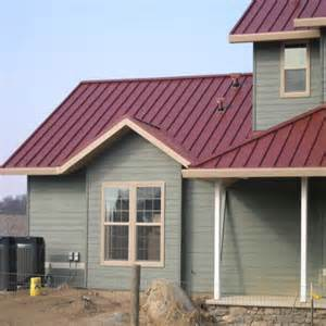 colored metal roofing impressive barn metal roofing 3 houses with metal