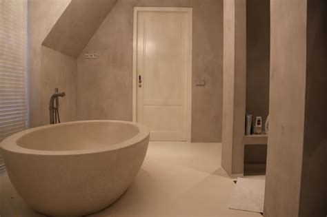 Beton Cire Interiors by Beton Cire Producten Sanistuc Interior I Bathroom