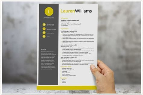 modern resume template 2015 modern resume templates docx to make recruiters awe