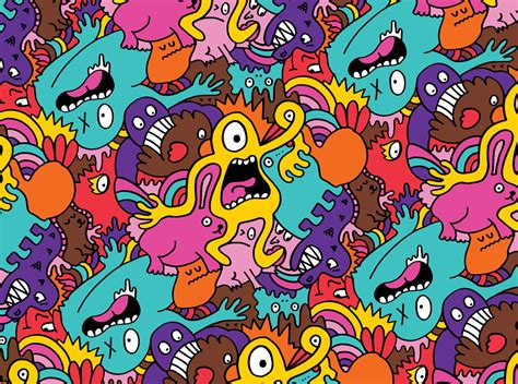 pattern artists more monsters more patterns chris piascik