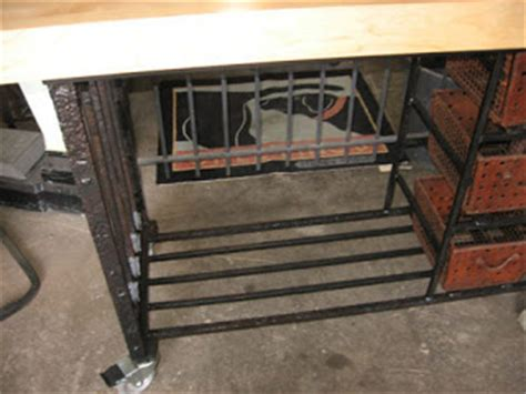 wrought iron kitchen island black dog salvage architectural antiques custom