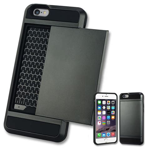 Iphone 6 Mercury Corporation Slim Card Pocket Original Verus Card Pocket Slim Hybrid Wallet Bumper Cover For