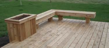 Corner Deck Bench Cedar Deck Designs On Pinterest Deck Benches Cedar Deck