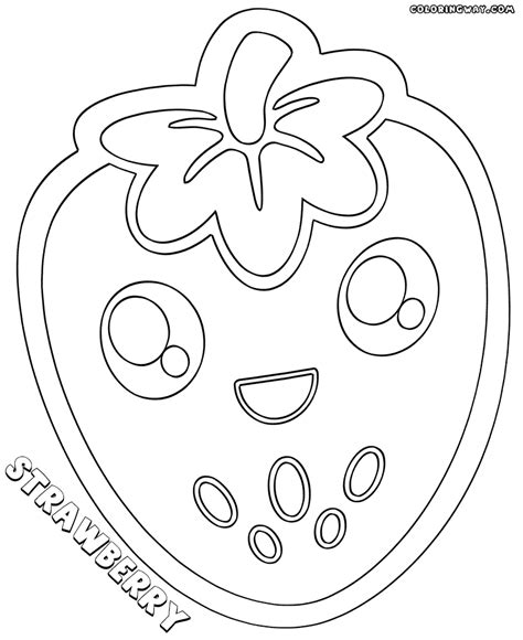 kawaii food coloring pages coloring pages to download kawaii food coloring pages coloring pages to download