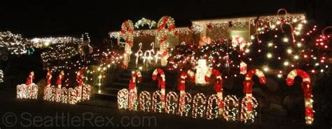 Christmas Eve Smackdown Candy Cane Lane Vs Olympic Manor Olympic Manor Lights