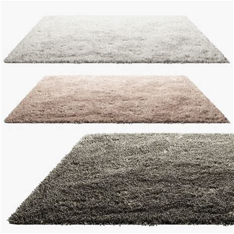 3d model rug 3d carpets with pile cgtrader