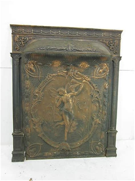 Fireplace Cover Plate by The 75 Best Images About Cast Iron Fireplace Back Plates