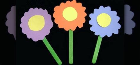 How To Make Easy Flowers Out Of Construction Paper - how to make a bouquet of flowers out construction paper