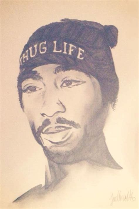 2pac Sketches by Tupac Shakur Sketch By Jodiewillmott On Deviantart