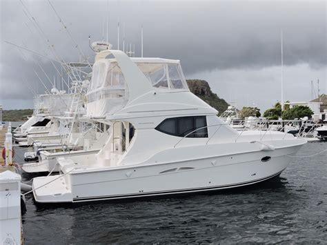 silverton  convertible power boat  sale wwwyachtworldcom