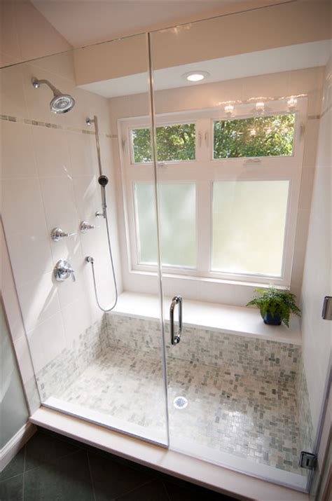 Walk In Shower Bathroom Shower Windows