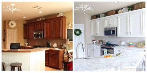 kitchen before and after sherwin williams alabaster on cabinets same color as ben white