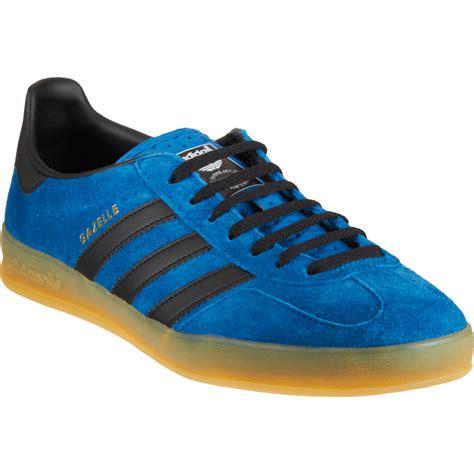 adidas gazelle indoor adidas gazelle indoor in blue for men lyst