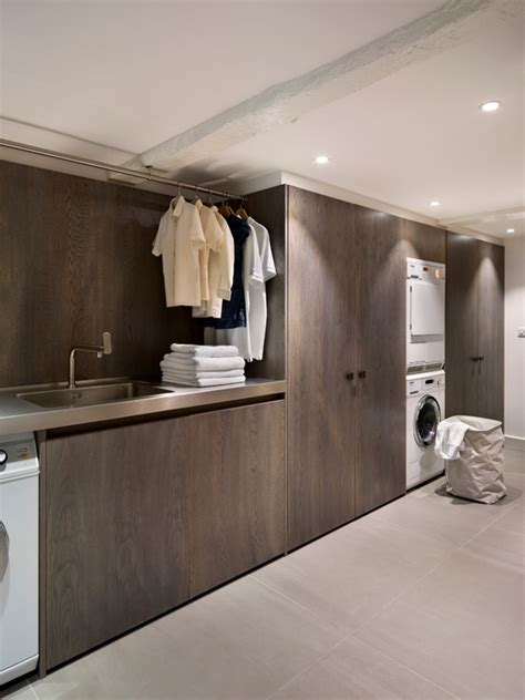 Contemporary Laundry Room Ideas 40 Laundry Room Cabinets To Make This House Chore So Much Easier