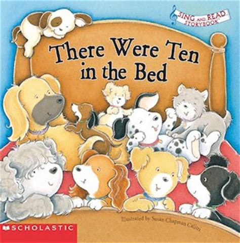 sing and read storybook there were ten in the bed