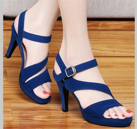 Sandal Big Heels Fladeo M 2 high heels ha heel