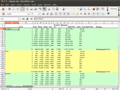 Web Based Excel Spreadsheet by 15 Best Free Desktop And Web Based Microsoft Excel