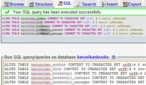 Mysql Change Table Encoding Mysql Change Table Encoding Fixing Messed Up Encoding In