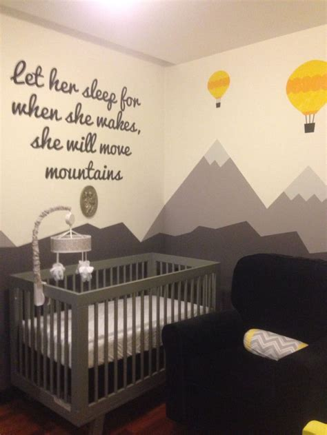 1000 ideas about mountain nursery on nursery