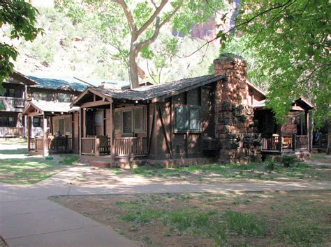 Cabins In Zion National Park by Zion Lodge Zion National Park Utah