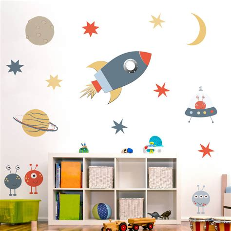 space wall stickers space wall sticker set by nutmeg notonthehighstreet