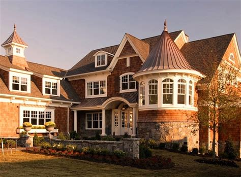 shingle houses shingle style house victorian exterior detroit by