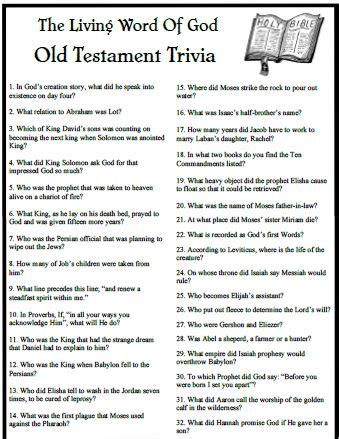 printable word trivia games new testament trivia questions the living word trivia