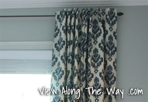 how to sew a curtain panel tutorial how to sew diy black out lined back tab curtains