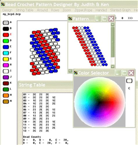 bead pattern design software free bcpd bead crochet pattern designer software download
