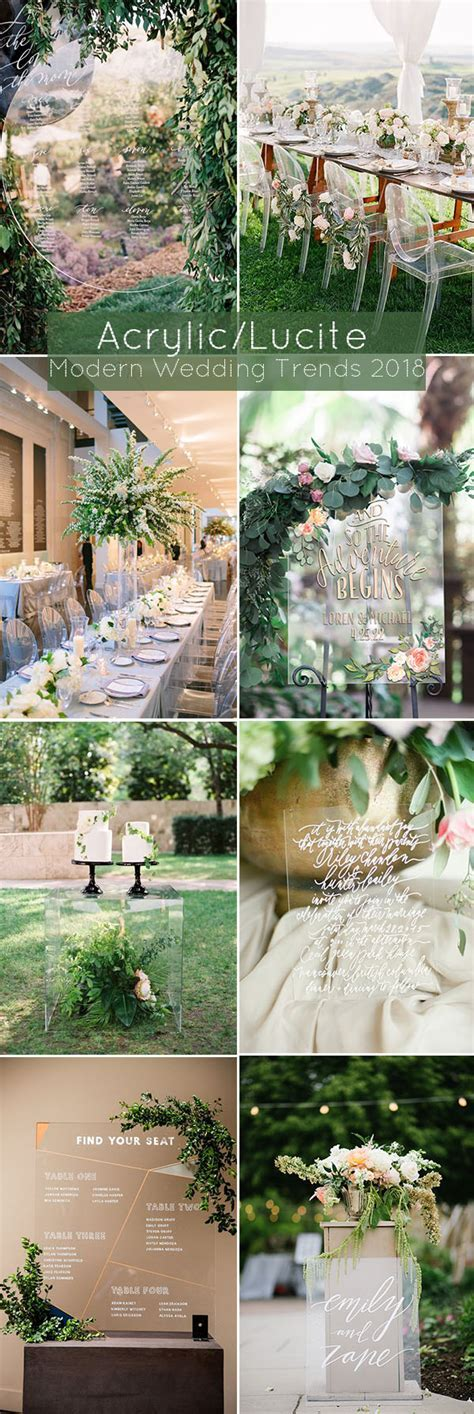 5 Big Modern Wedding Decoration Trends for Brides to