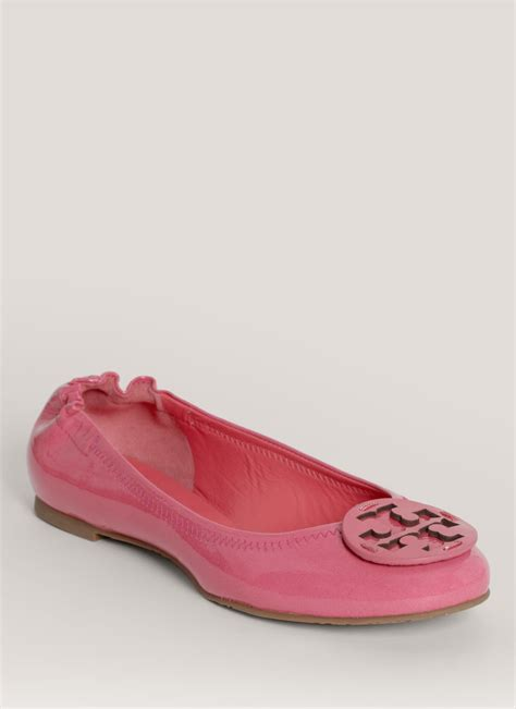 Trend Report Burch Reva Flats Are Going To Be This Second City Style Fashion by Burch Reva Patentleather Ballerina Flats In Purple