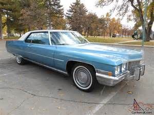 1971 Cadillac Sedan For Sale 1971 Cadillac Coupe Everything 100 Original