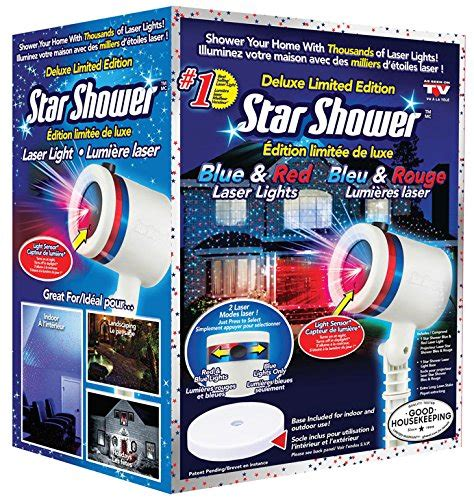 shower laser light blue shower blue laser light deluxe limite
