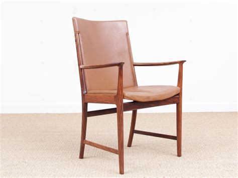 Designer Leather Armchairs Mid Century Modern Pair Of Armchair In Rio Rosewood And