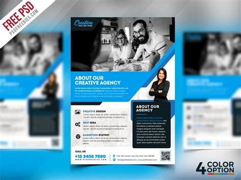 Free Psd Flyer Design Templates