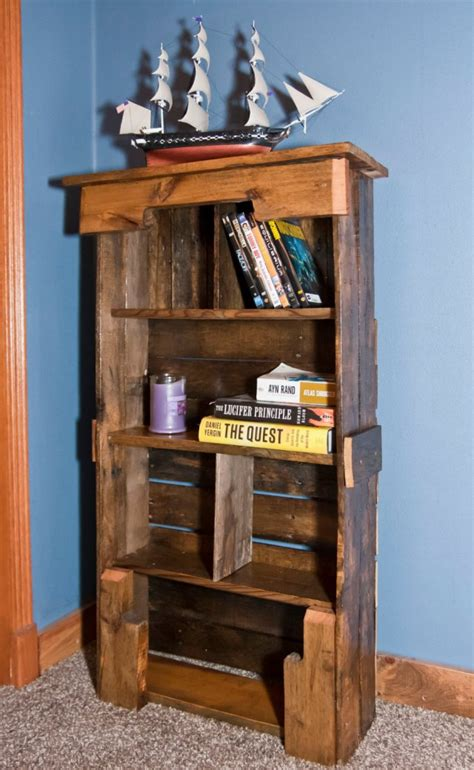 easy wood bookshelf plans woodworking projects