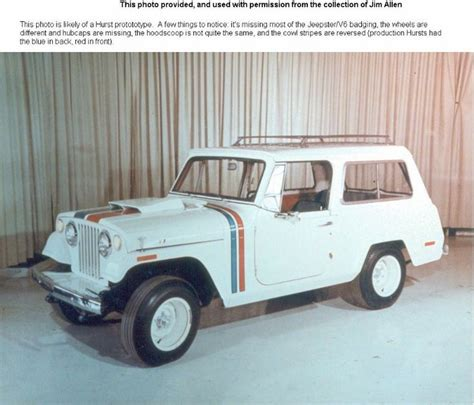 jeep commando hurst jeep commando hurst edition prototype vehicle courtesy of