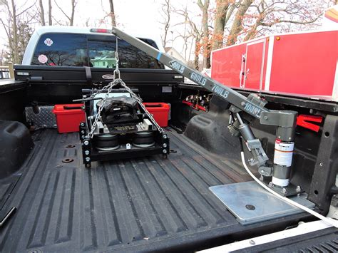 truck bed hoist bed mounted hoist crane lift etc ford truck