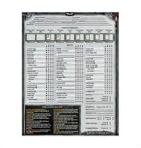 character sheet template character sheet template 8 free pdf documents