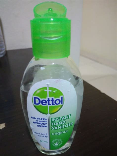 dettol instant hand sanitizer reviews