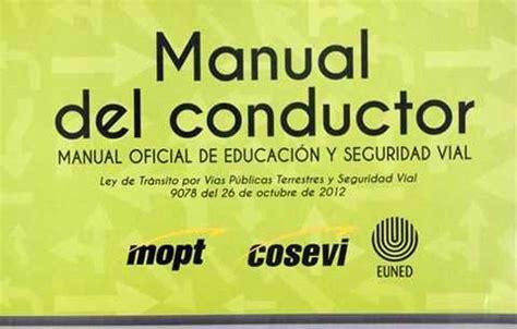 Ultima Versi 243 N Del Manual Del Conductor Costa Rica 2018