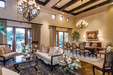 French Provincial Dining Room Set how to decorate a living room with high ceilings