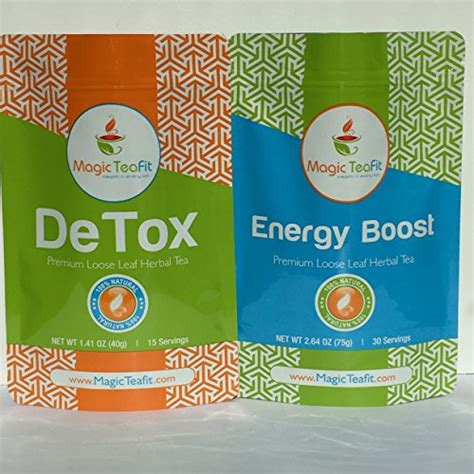 Detox For Energy Boost by Best Projects Detox Energy Boost Combo Pack